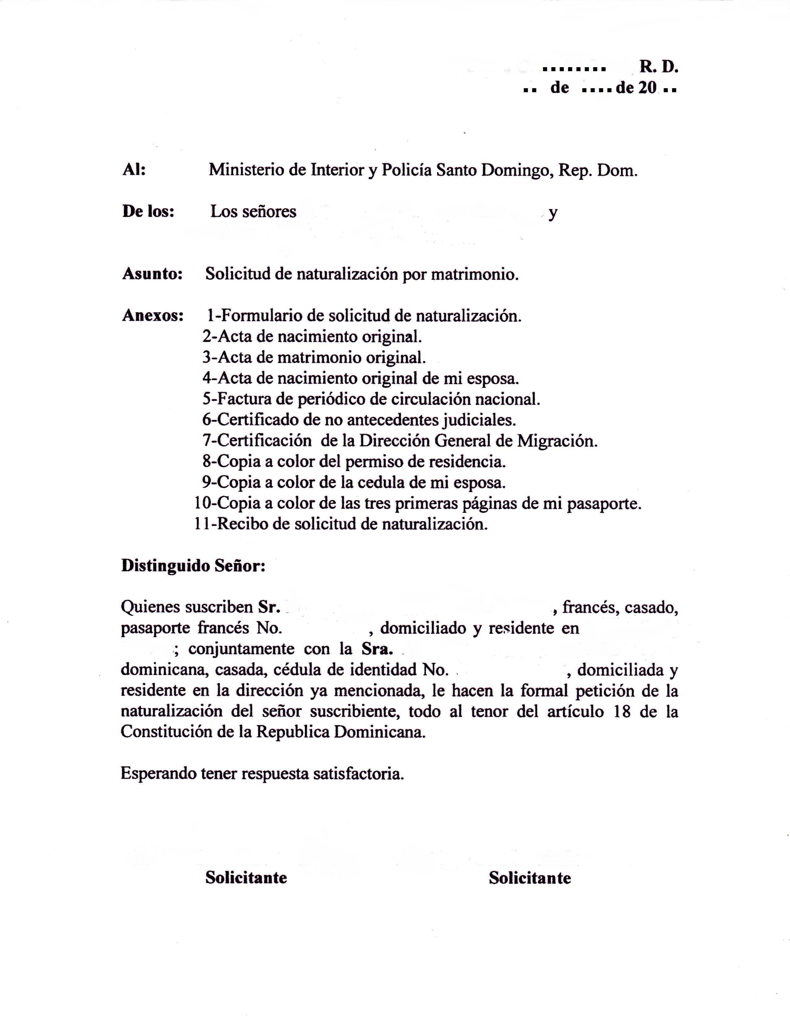 Première étape Obligatoire Un Visa Hola Dominicana